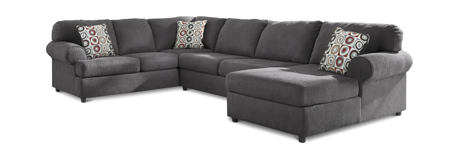 Astonishing Jayce 3 Piece Sectional Inzonedesignstudio Interior Chair Design Inzonedesignstudiocom