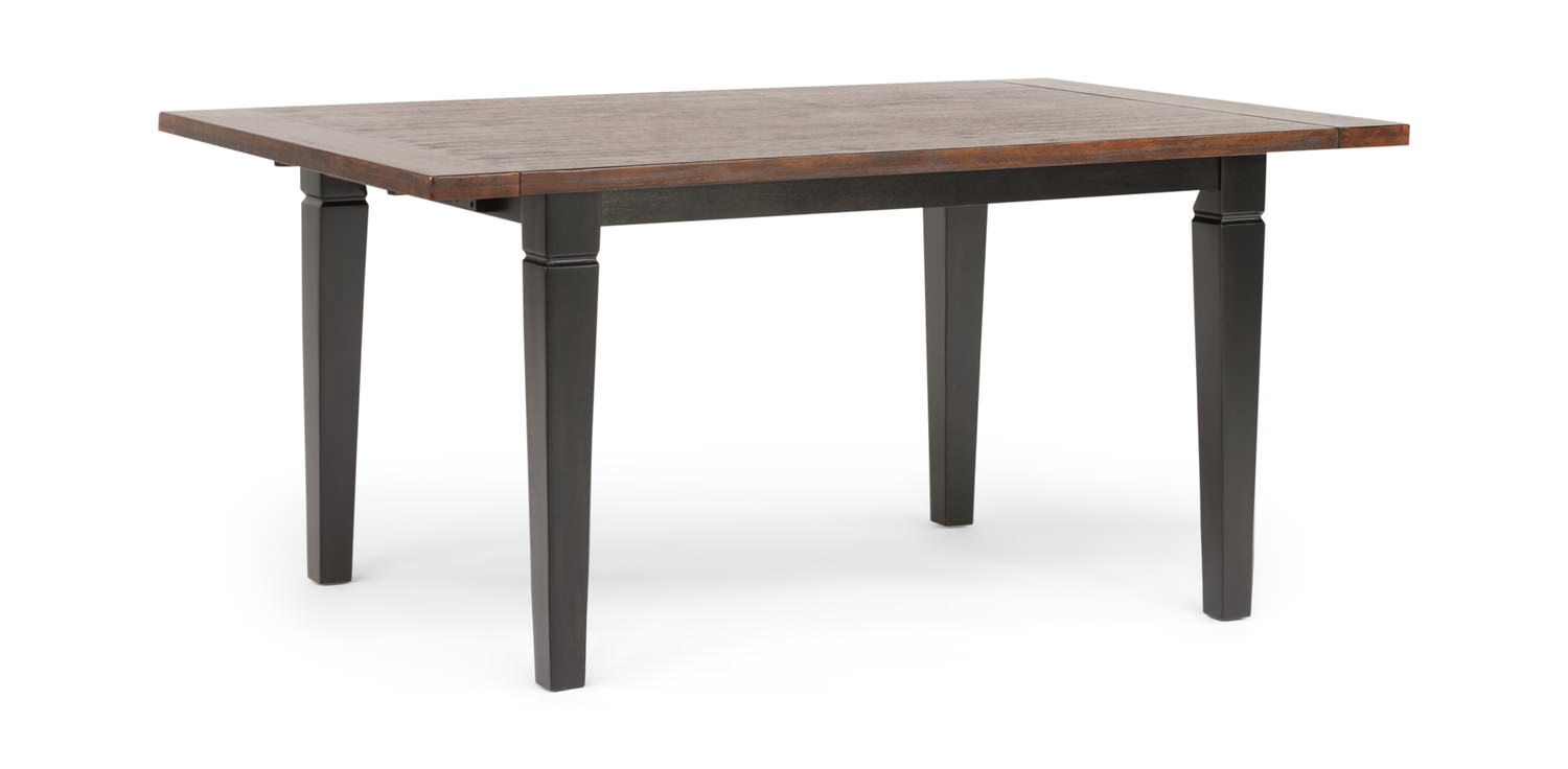Brittany dining table by thomas cole designs hom furniture