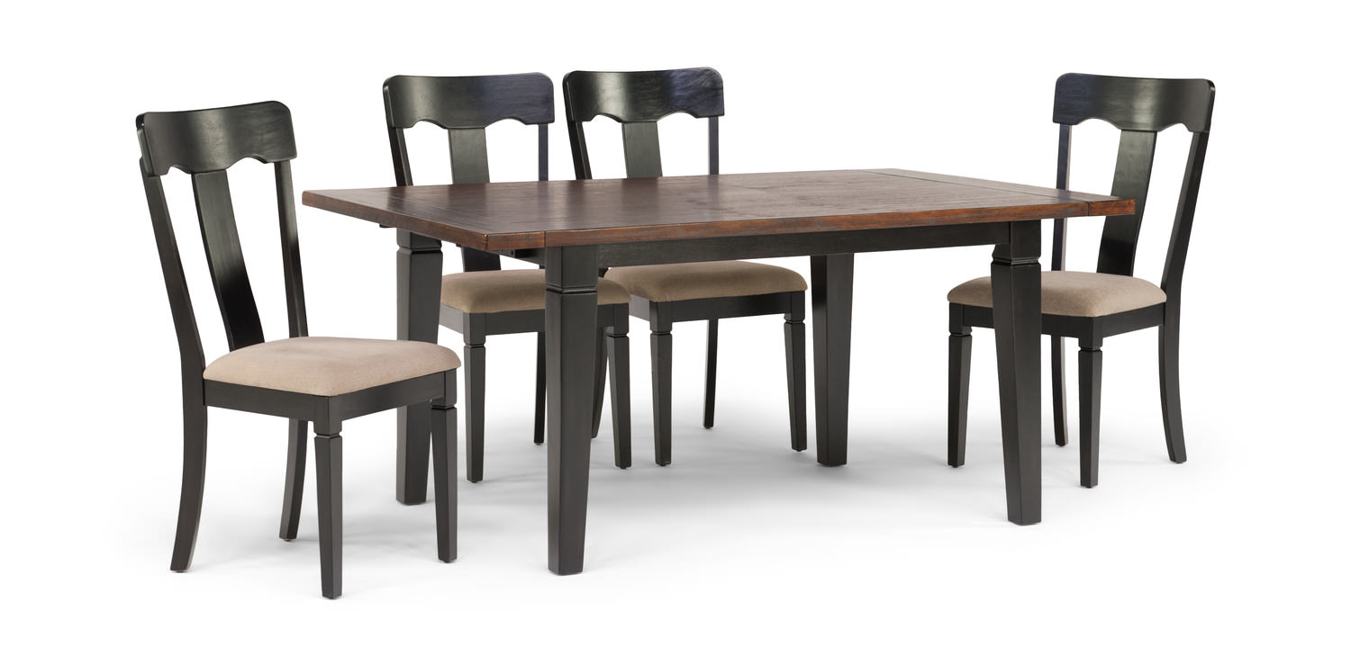 Brittany Dining Table And 4 Napoleon Chairs ...