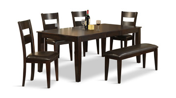 Image Lincoln Table With 4 Chairs And Bench
