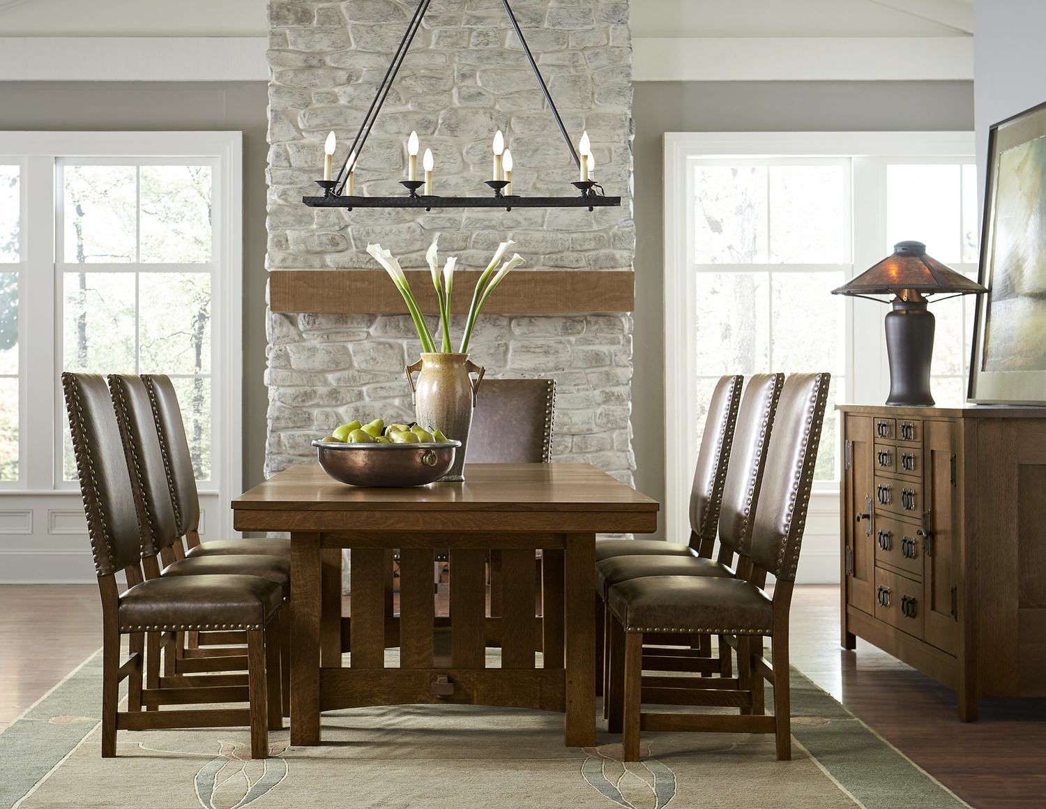 Grande Trestle Dining Table