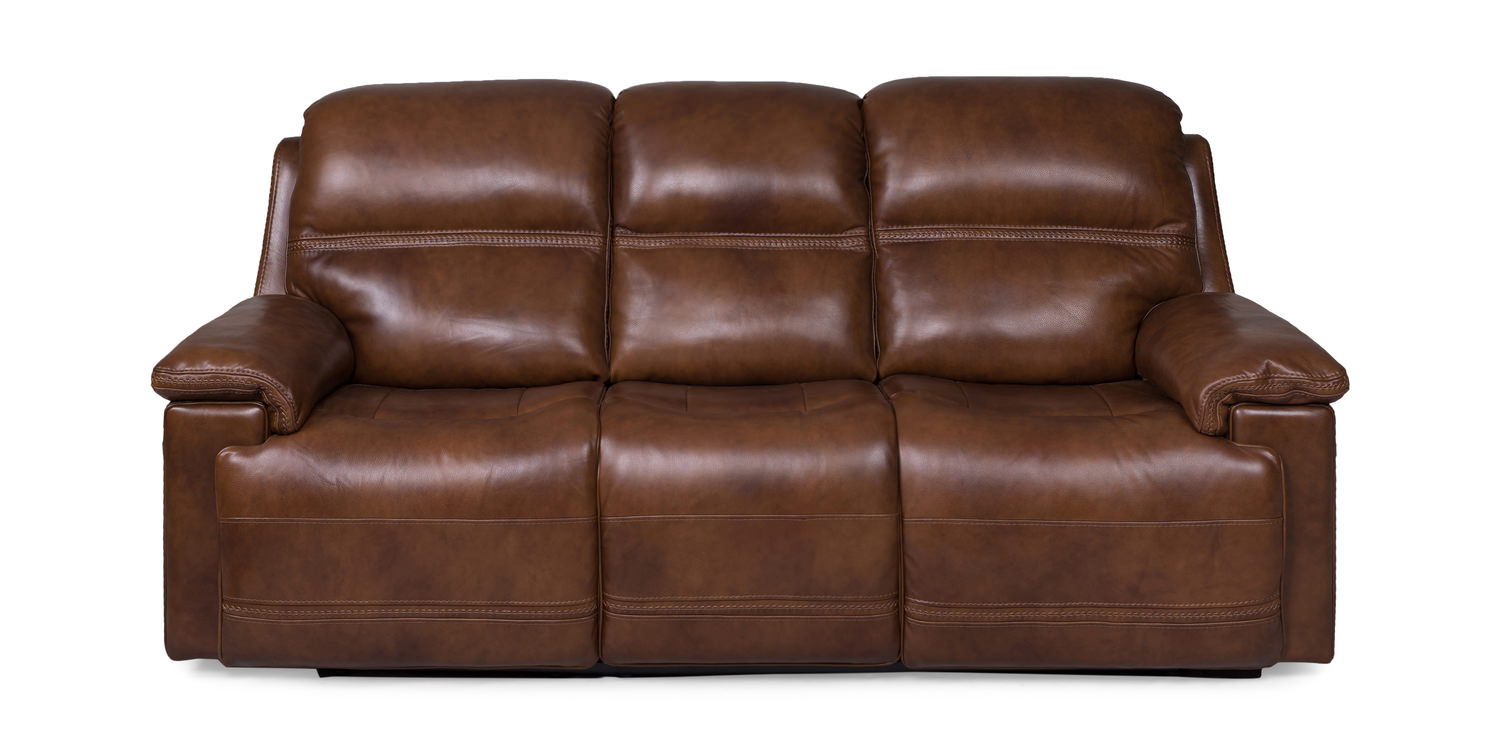 Marvelous Flexer Leather Power Reclining Sofa Pabps2019 Chair Design Images Pabps2019Com