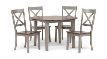 Image A La Carte Round Table And 4 Chairs
