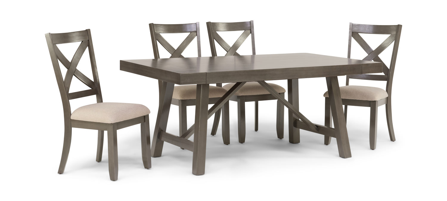 Omaha Dining Table With 4 Side Chairs