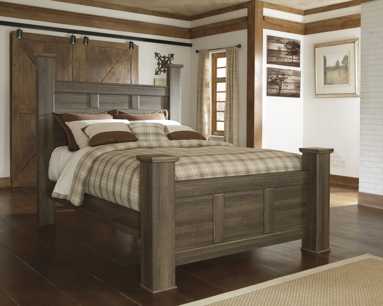Santa Cruz Bedroom Furniture Santa Cruz Poster Bed Bedroom Set Dock86 Spend A Good Deal