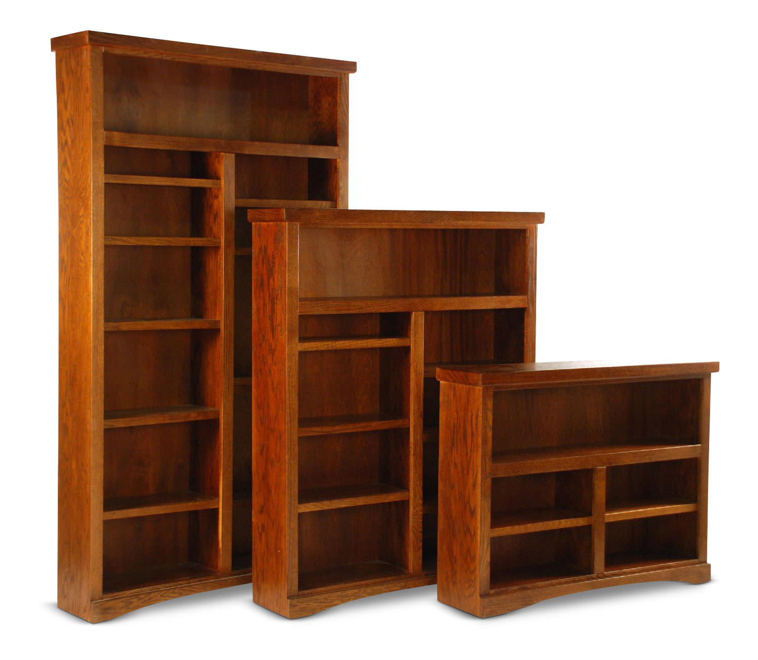 48 wide mission bookcase hom furniture. Black Bedroom Furniture Sets. Home Design Ideas