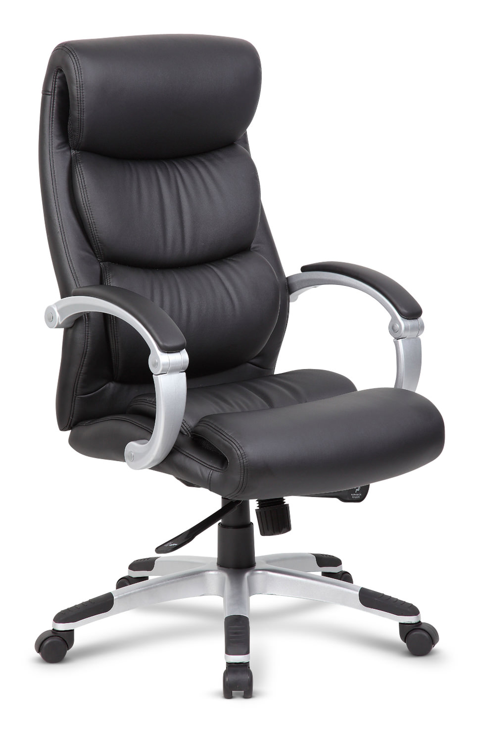 Executive Black Hinged Arm Office Chair By Hom Furniture