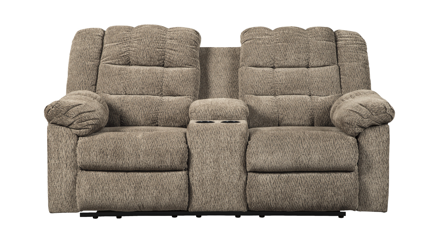 Tremendous Clyde Reclining Loveseat With Console Gamerscity Chair Design For Home Gamerscityorg