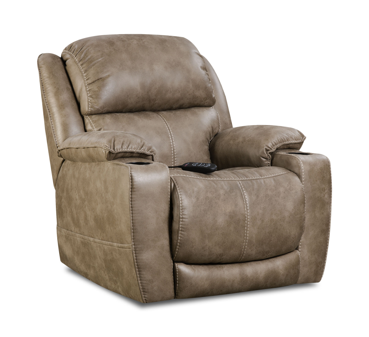 Stupendous Starship Power Home Theater Recliner Machost Co Dining Chair Design Ideas Machostcouk