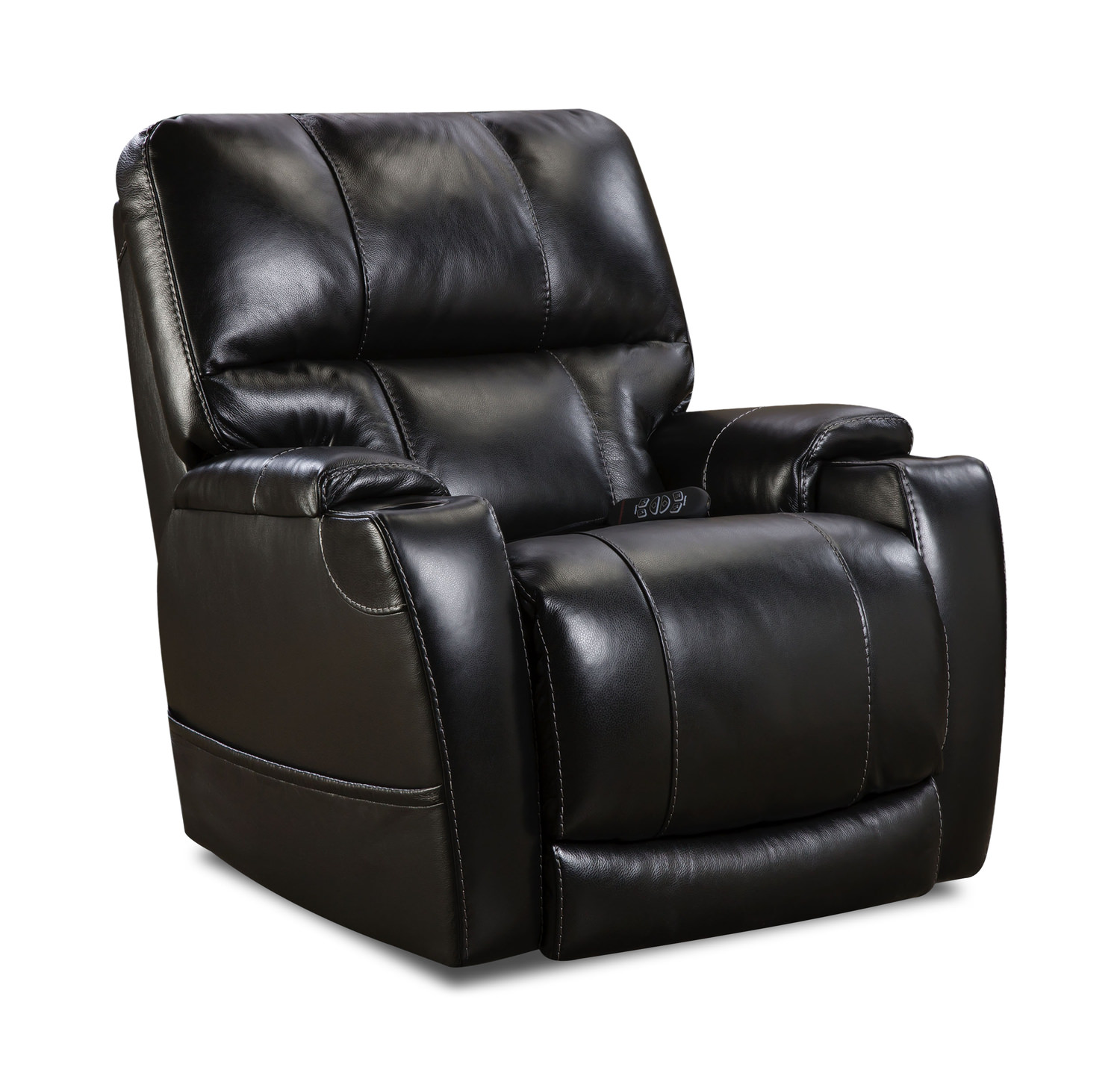 Stupendous Weston Leather Power Home Theater Recliner Customarchery Wood Chair Design Ideas Customarcherynet