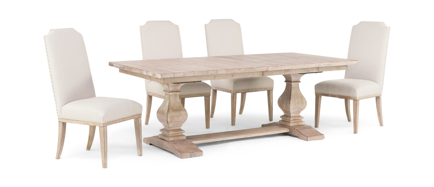 54456c0dec5ad Monteverdi Trestle Table With 4 Chairs by
