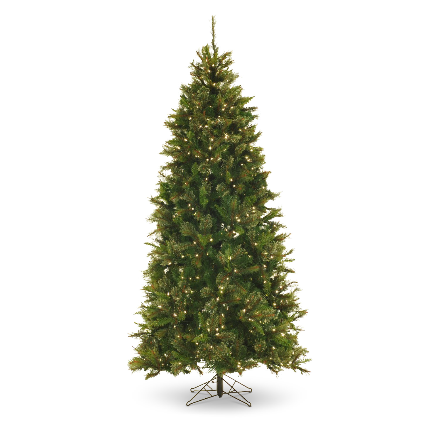 northwoods pine 75u2032 prelit artificial christmas tree clear lights - Fake Christmas Trees