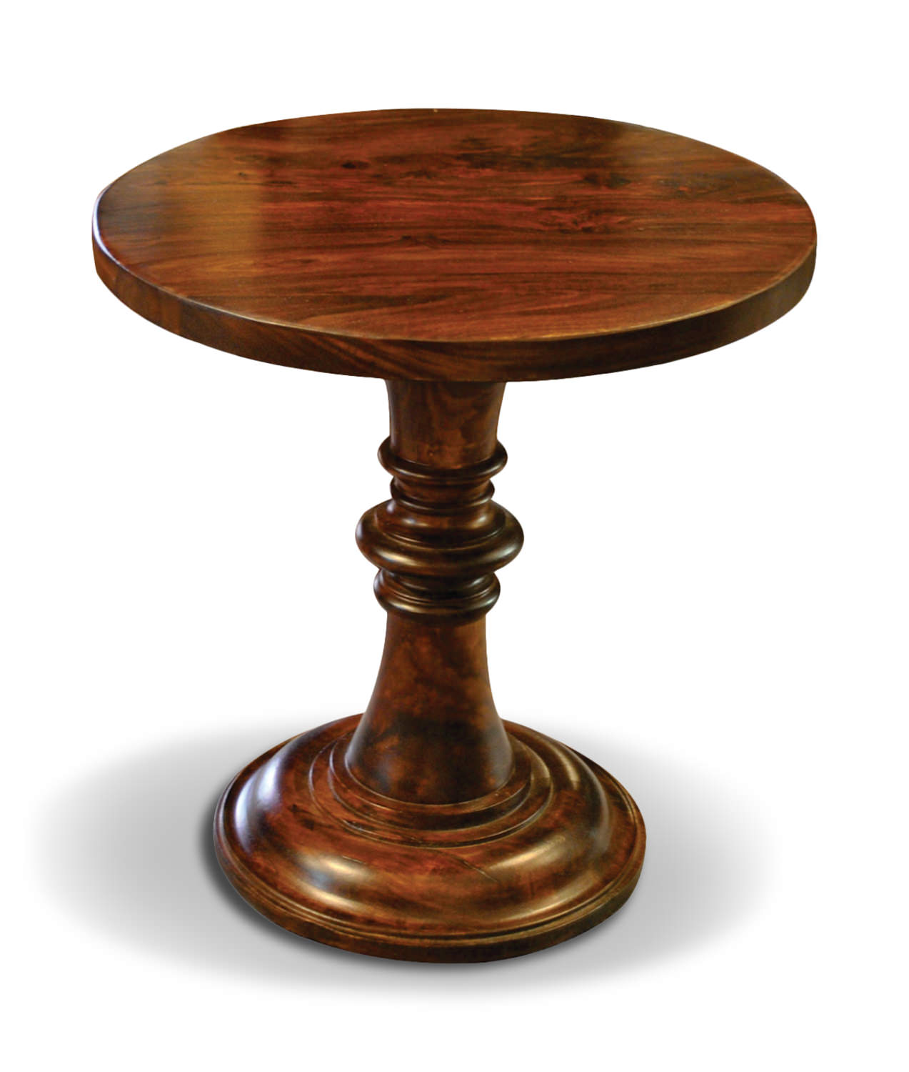 - Pedestal Accent Table HOM Furniture