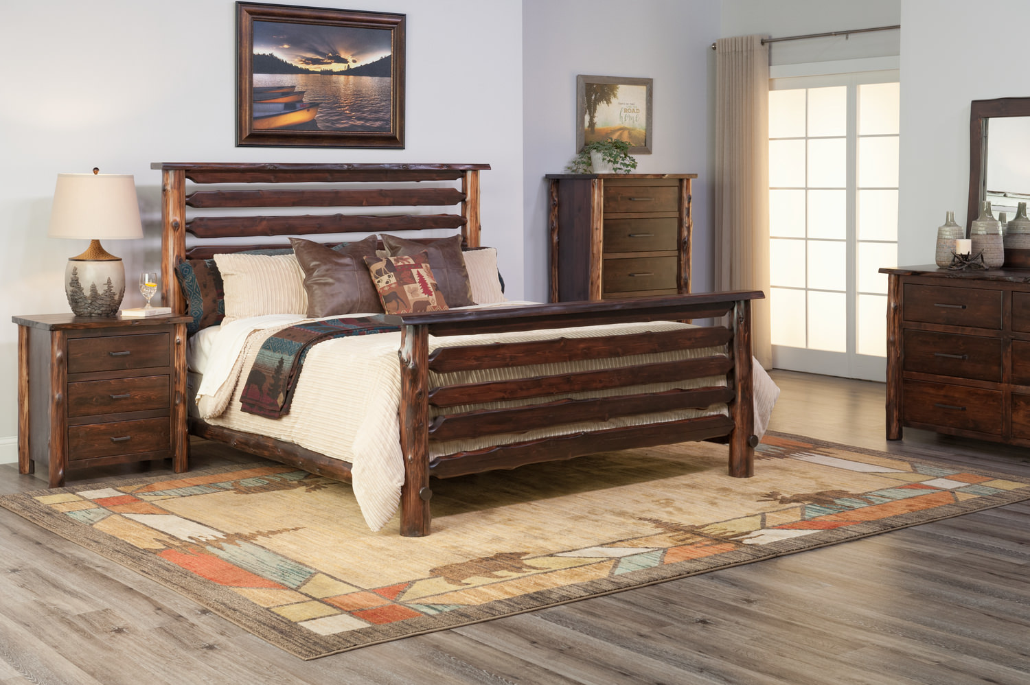 Modern Cedar Bedroom Suite