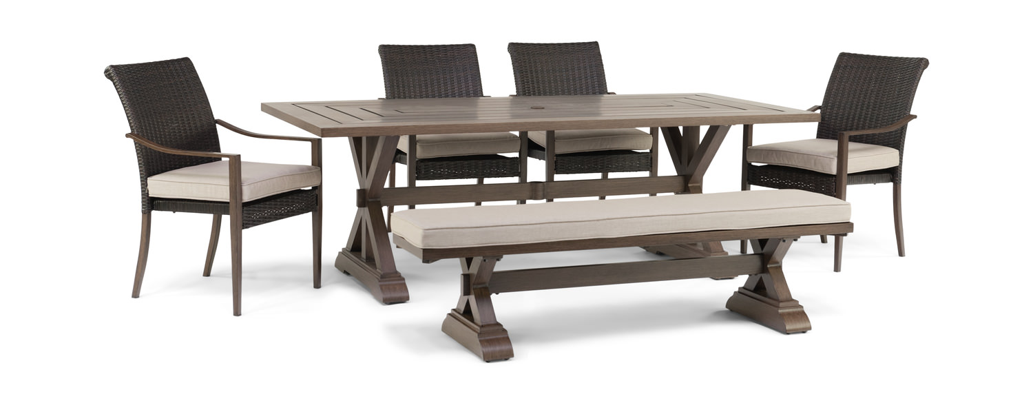 6 Piece Woven Patio Set By Cole