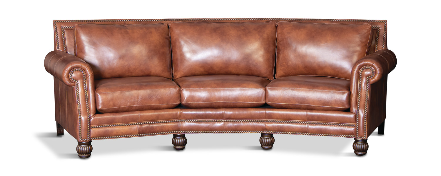 Prime Fortuna Leather Conversation Sofa Onthecornerstone Fun Painted Chair Ideas Images Onthecornerstoneorg