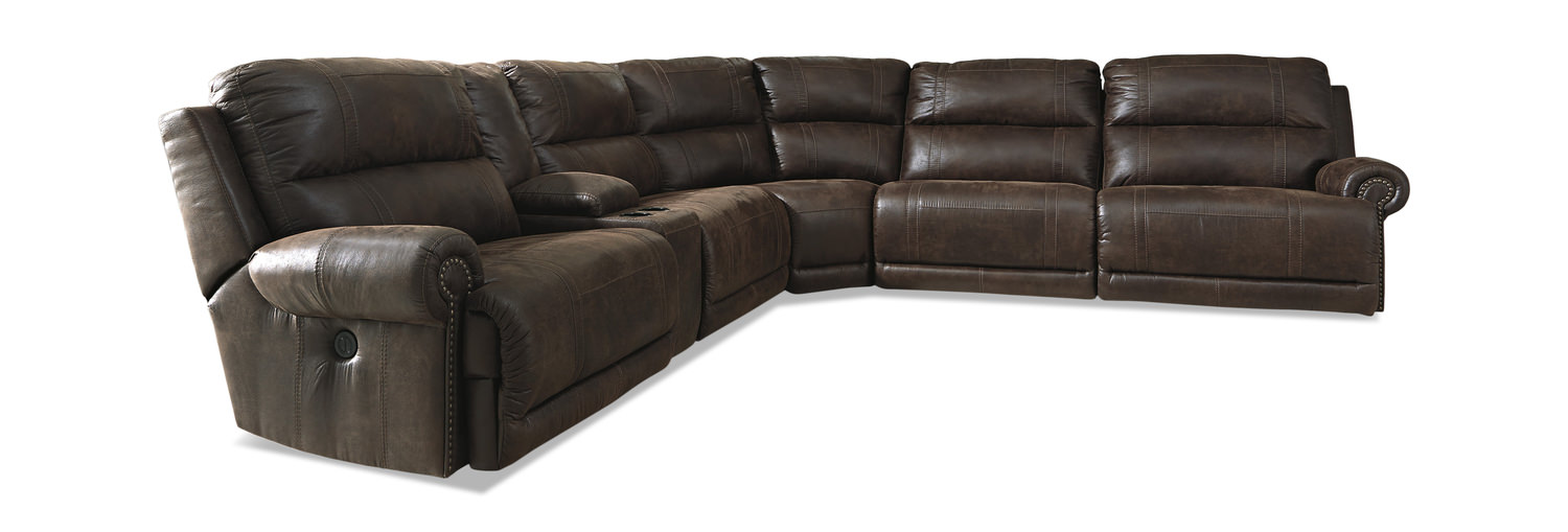 Placer 6 Piece Reclining Modular