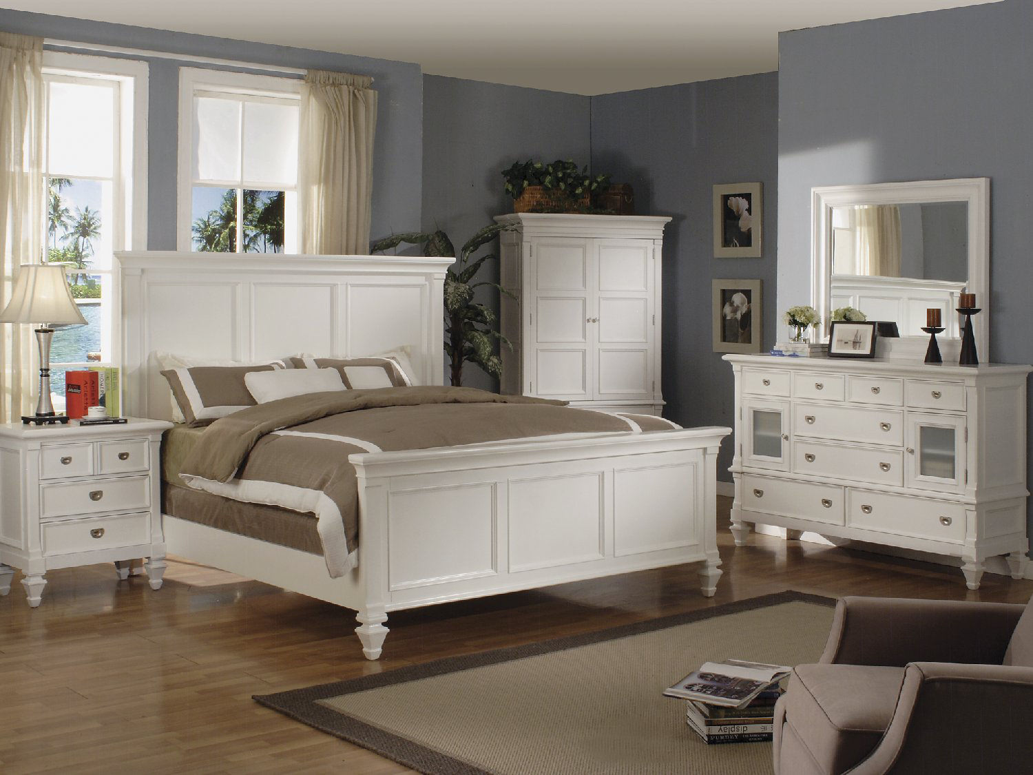 Summer Breeze Panel Bedroom Suite By Thomas Hom Furniture