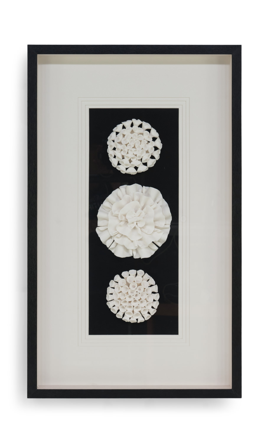Ceramic Flower Wall Art Hom Furniture