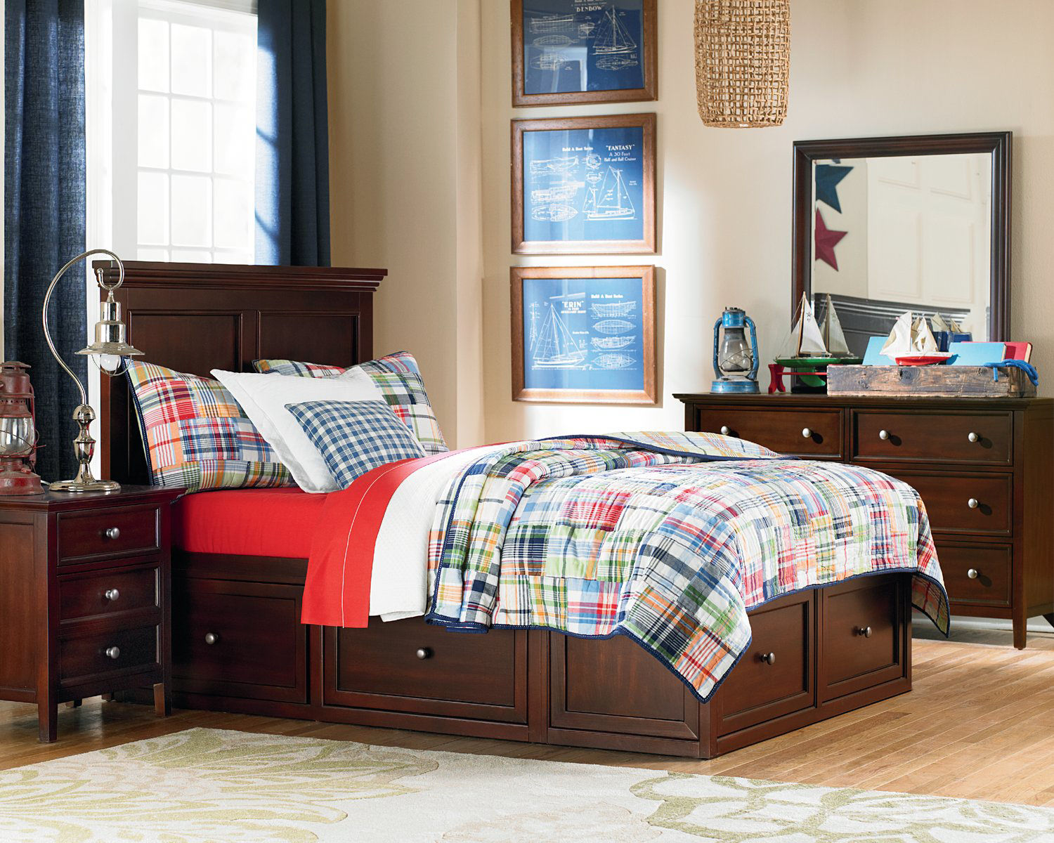 Spencer Six Drawer Storage Bed Bedroom Suite By Thomas Cole Hom Furniture