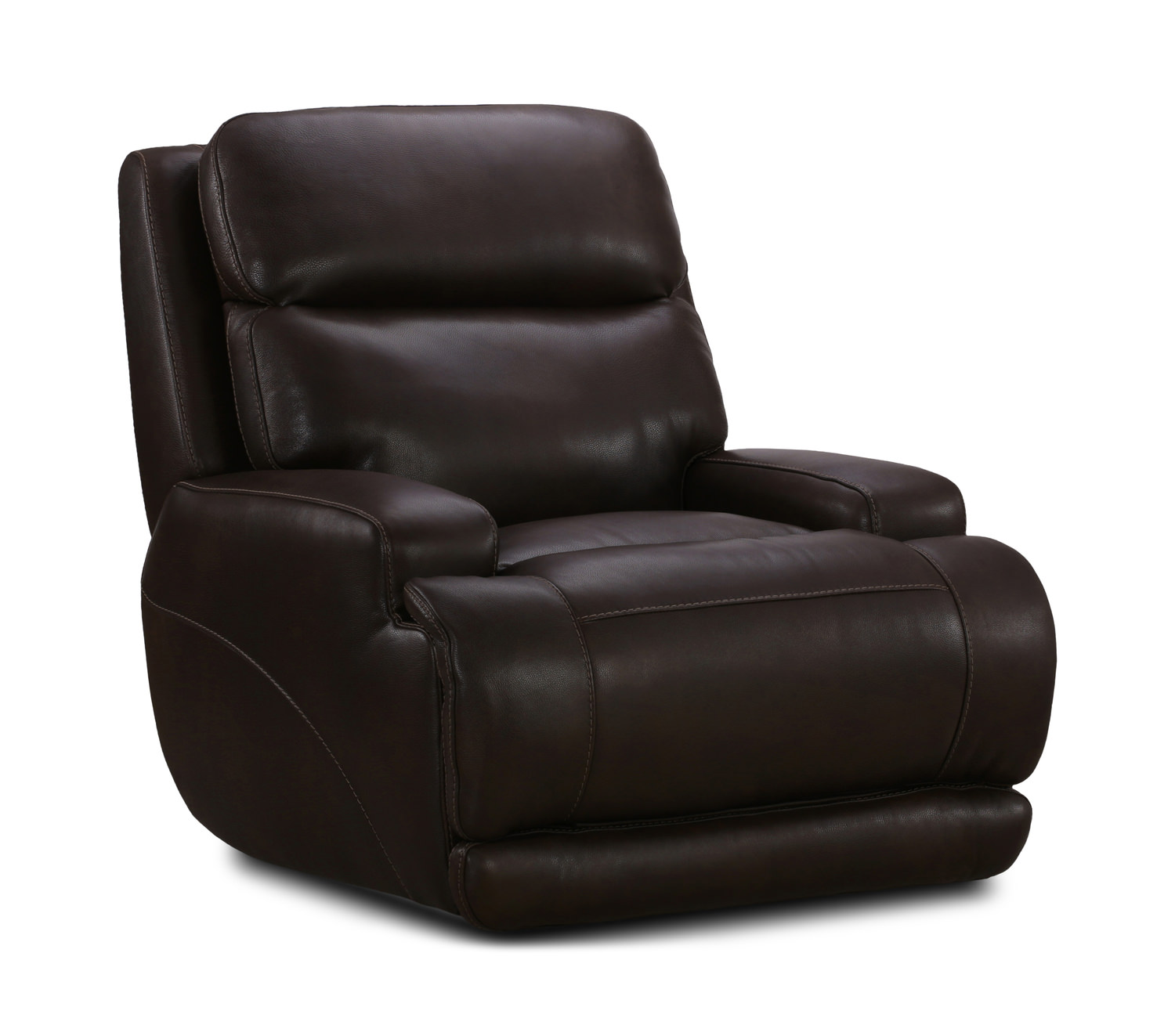 Astounding Bevo Leather Power Recliner Gmtry Best Dining Table And Chair Ideas Images Gmtryco