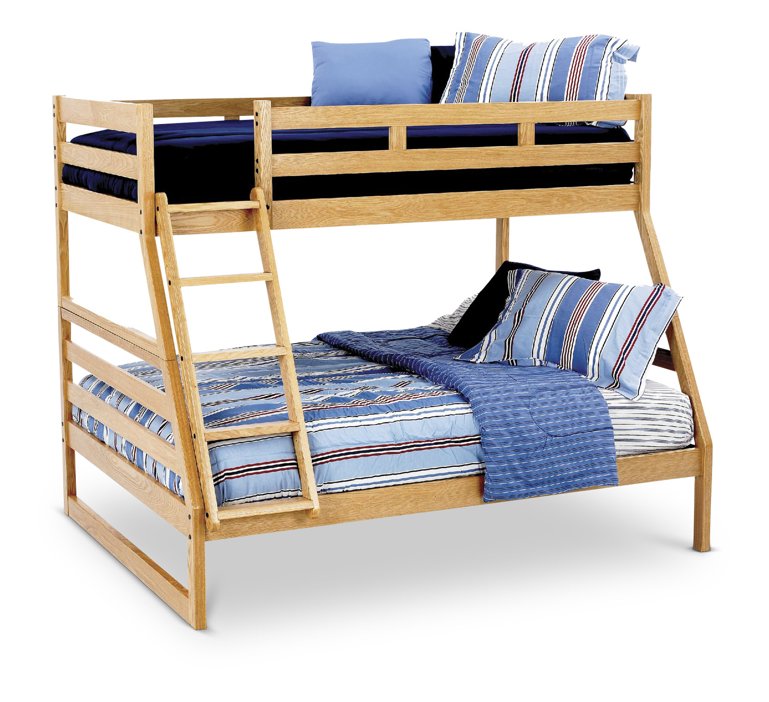 Oak twin bunk beds latitudebrowser for Hom furniture tent sale