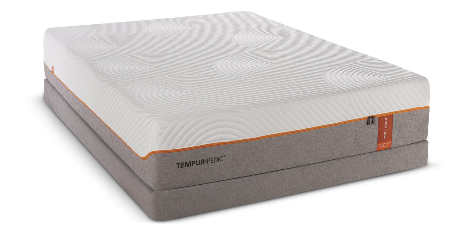 Contour Rhapsody Luxe Mattress Set By Tempur Pedic Hom Furniture