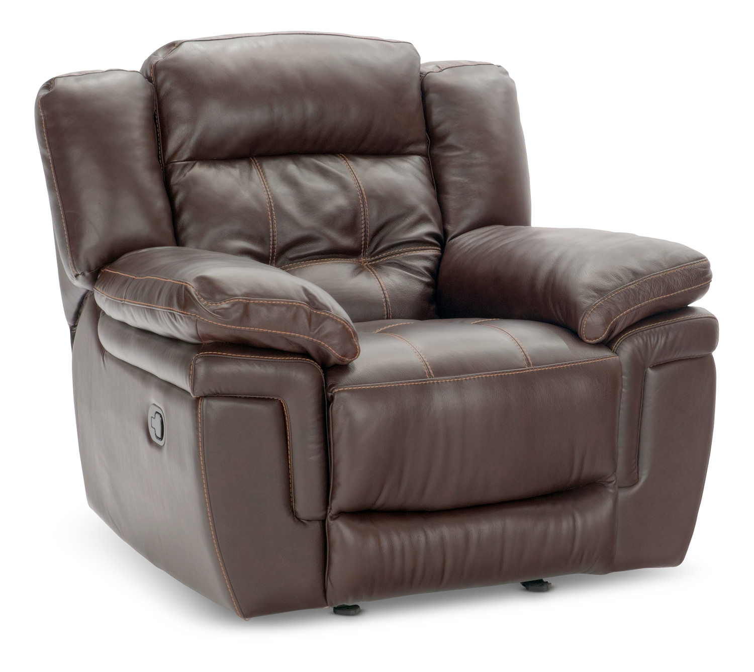 Hallmark Leather Glider Recliner Hom Furniture