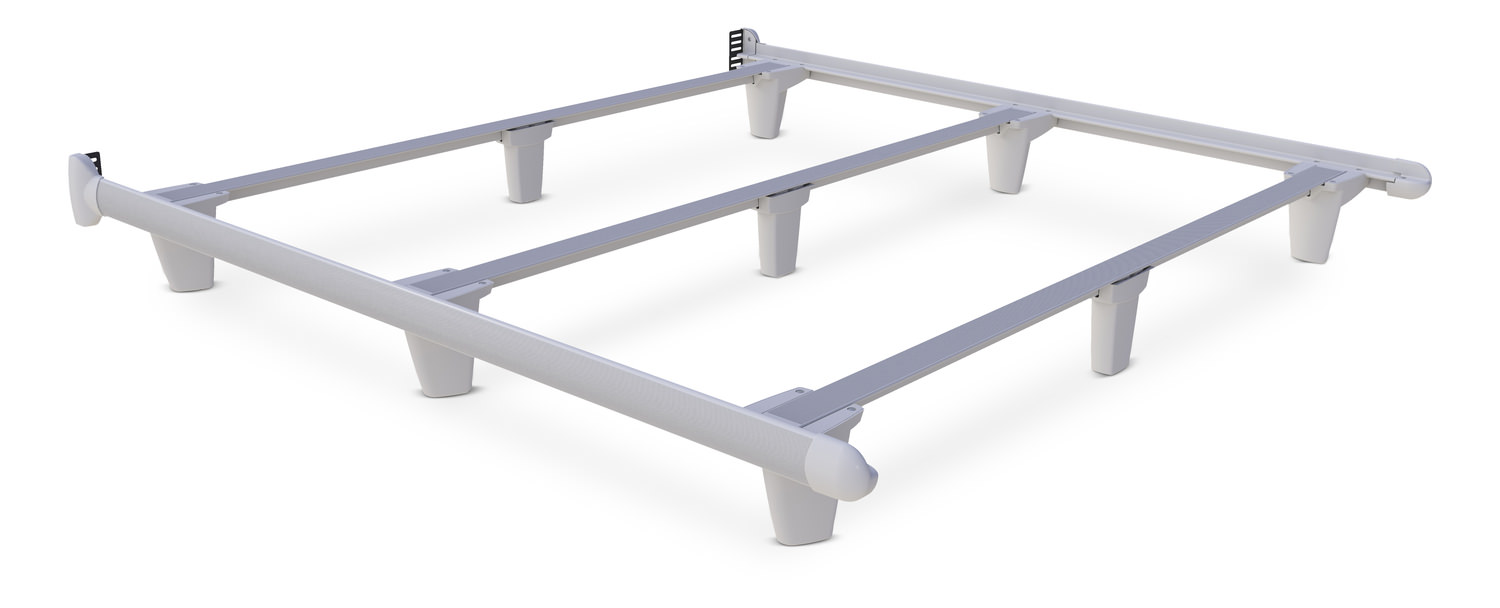 White king bed frames - White Embrace King Bed Frame