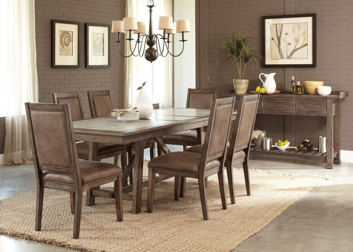 Stonebrook Table with 4 Side Chairs