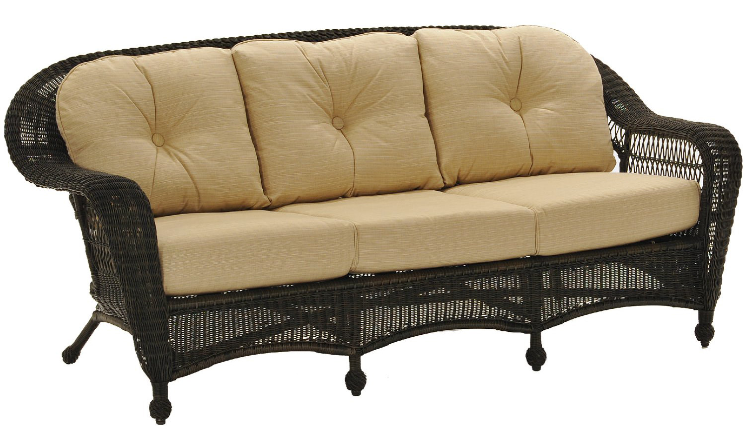 Charleston Wicker Sofa Outdoor By North Cape