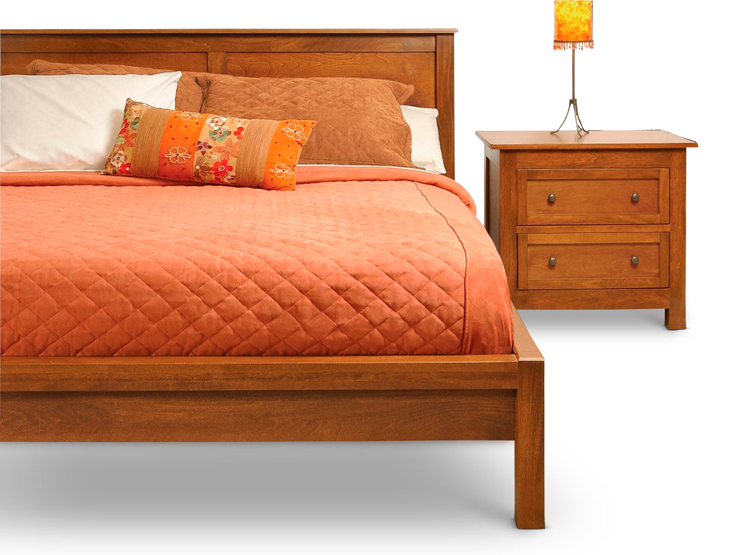Taylor J Platform Bed Hom Furniture