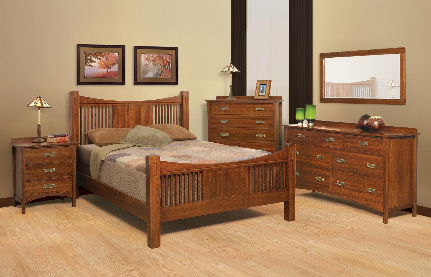 Heartland Mission Bed Hom Furniture
