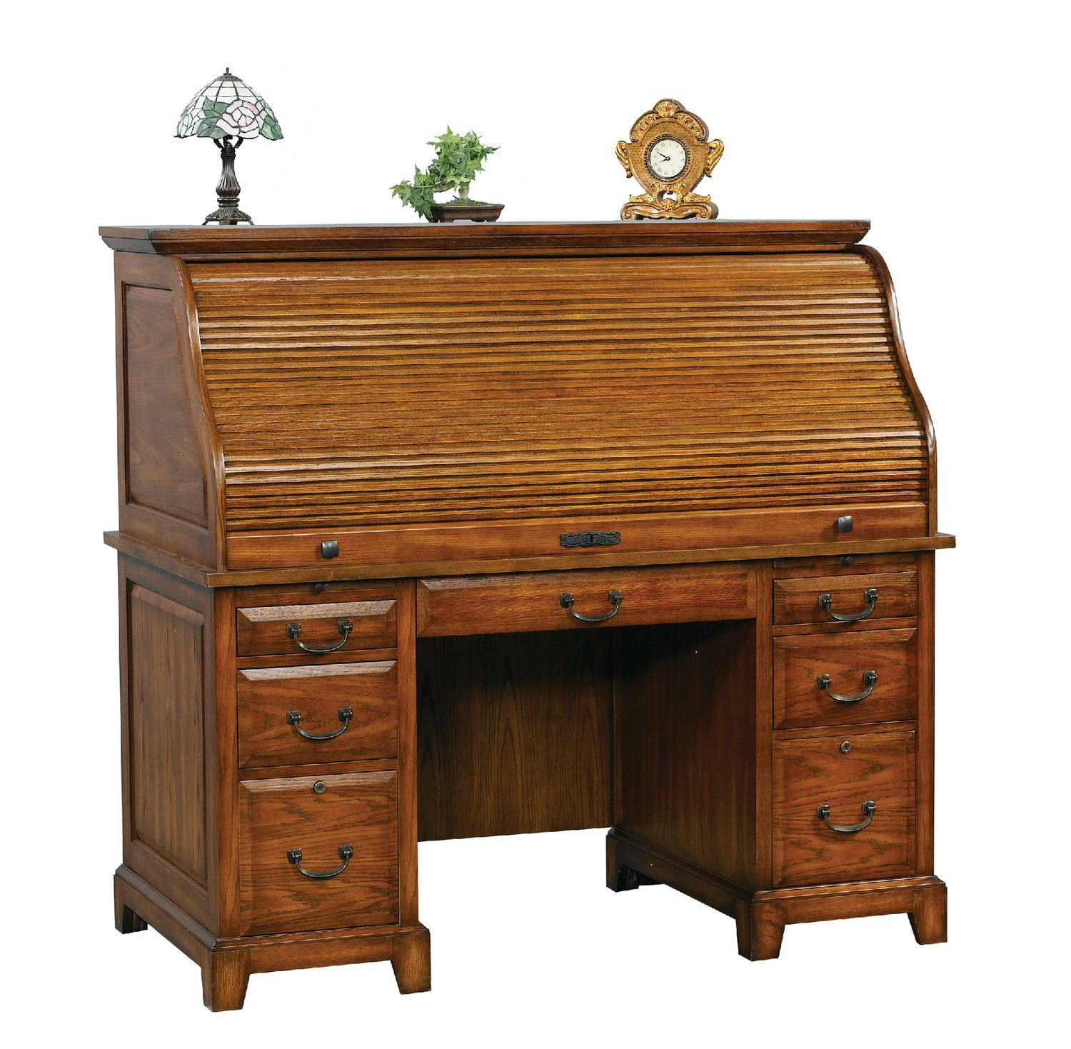 Oak Rolltop Desk Hom Furniture