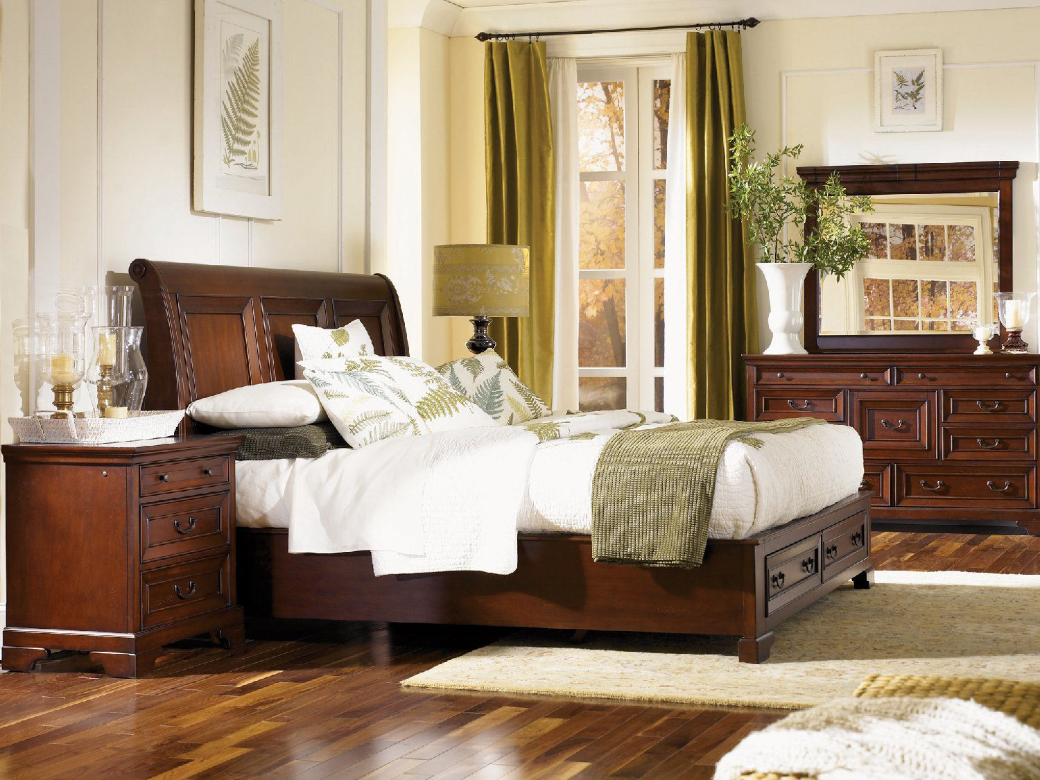 Galena Sleigh Storage Bedroom Suite By Bay Hom Furniture
