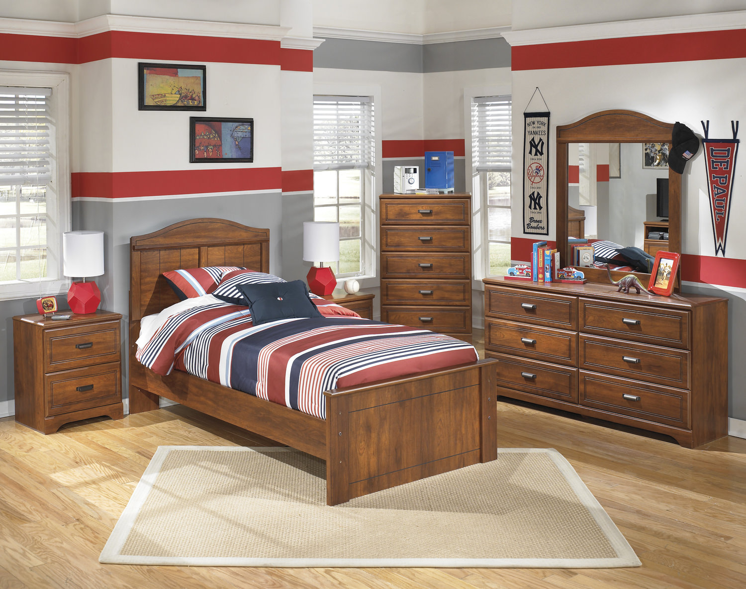 Barton Twin Bedroom Set