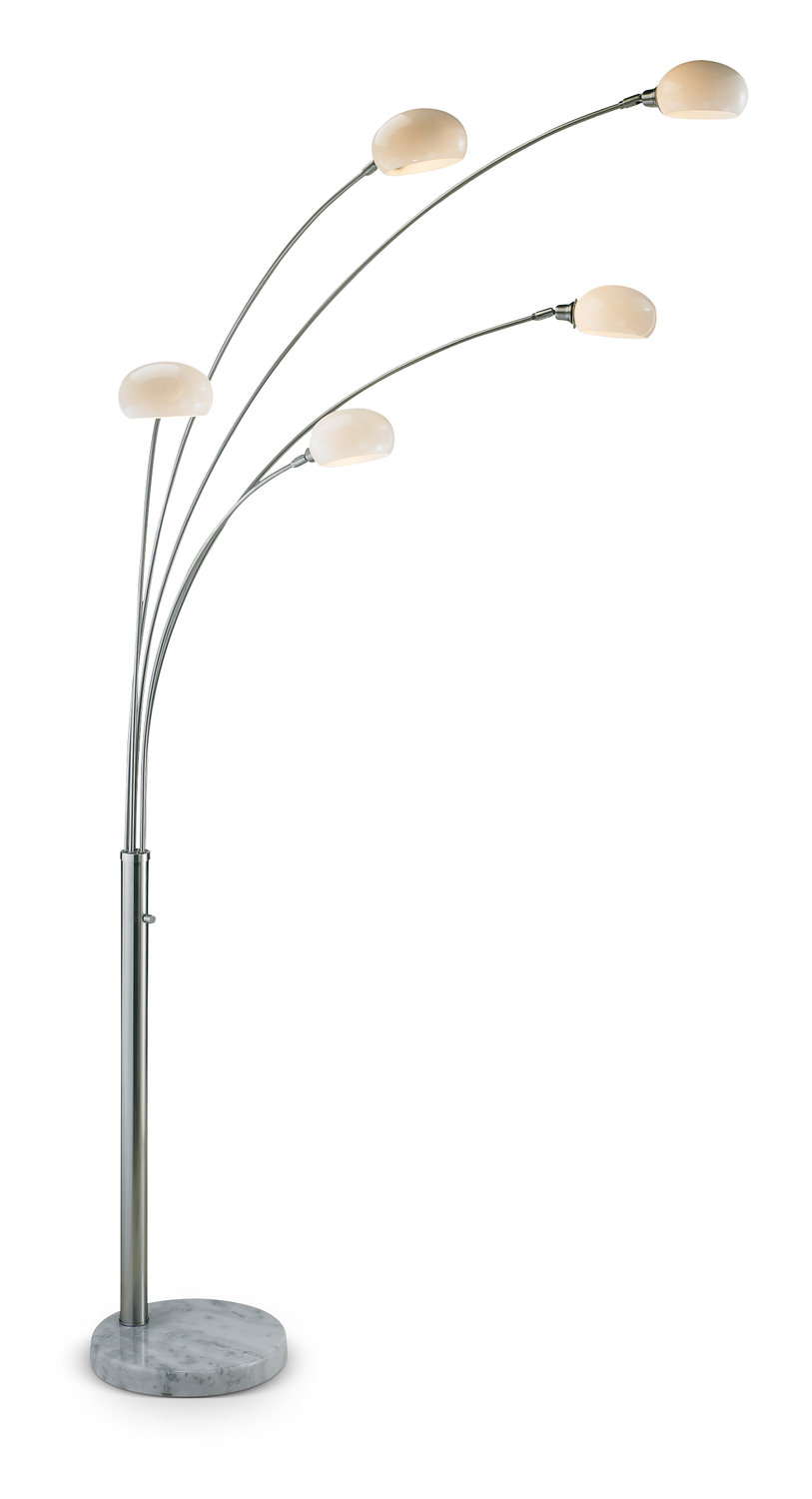 Luna Arc Floor Lamp Hom Furniture