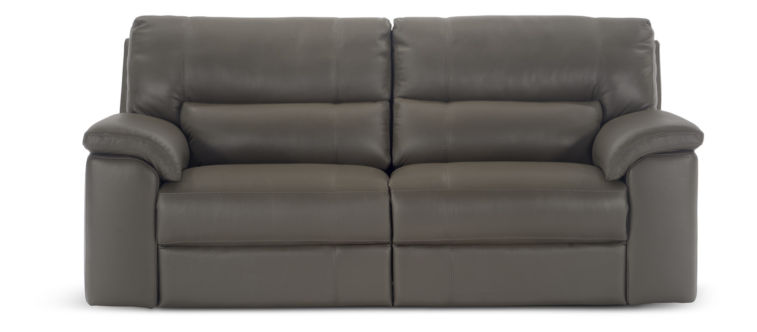 84″ Lucerne Leather Sofa