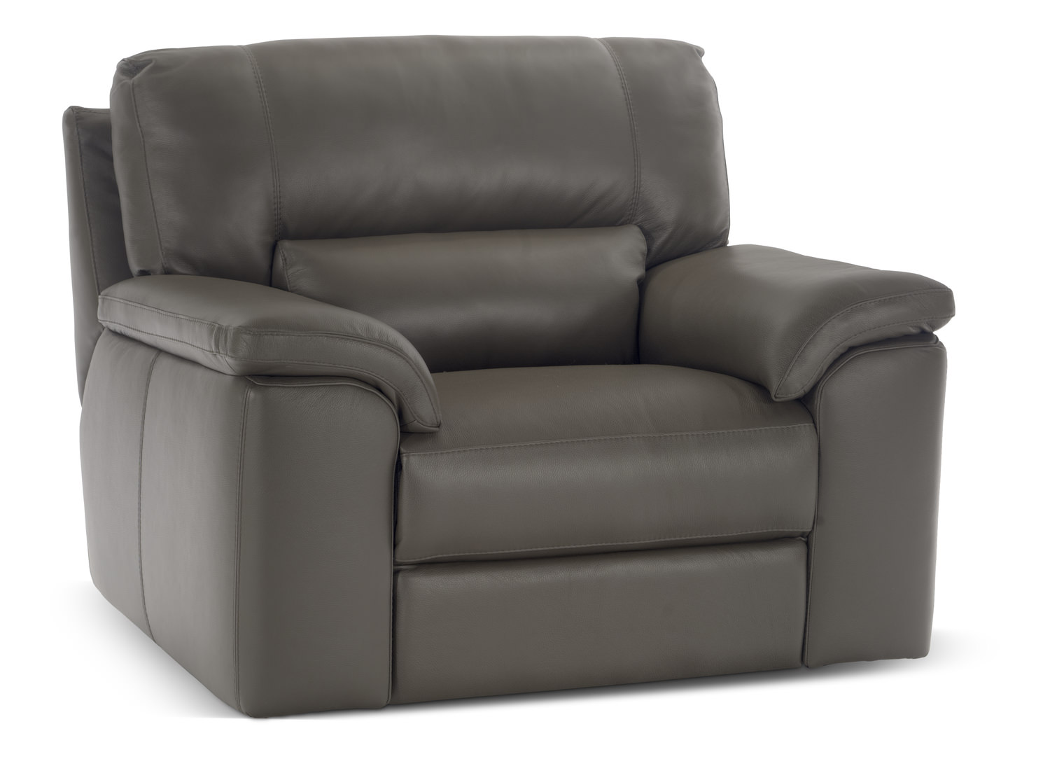 Attractive Lucerne Dual Power Reclining Chair   Mushroom ...