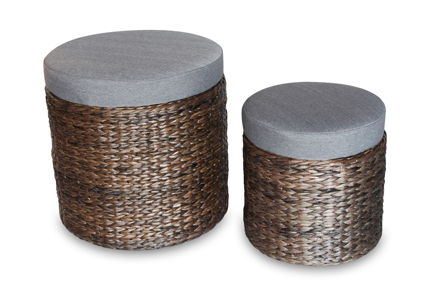 Exceptional Danika Woven Storage Ottomans ...
