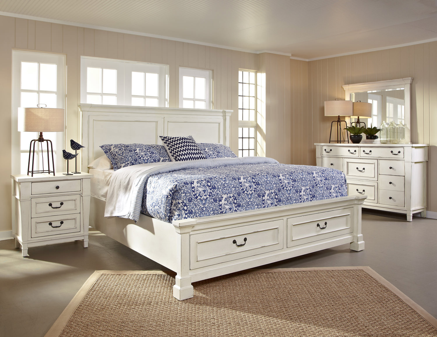 Stoney Creek Storage Bedroom Suite With 3 by | HOM Furniture