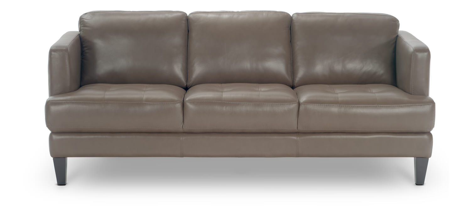 Galore Leather Sofa By Thomas Cole Designs Hom Furniture