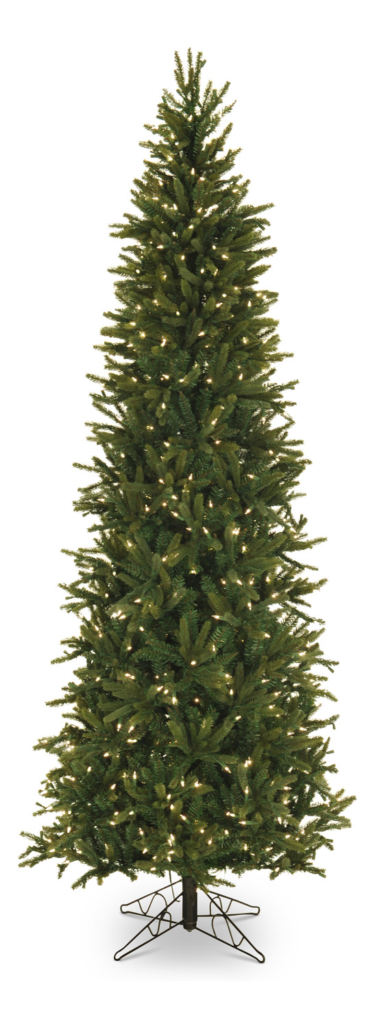 summit pine 75 pre lit artificial christmas tree with clear lights slim - Christmas Tree Slim