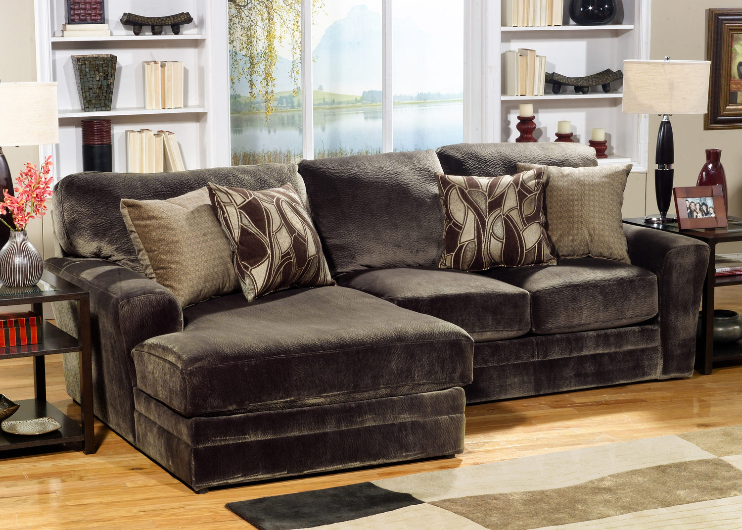 Zailey 5-Piece Fabric Modular - Sectional Sofas ...