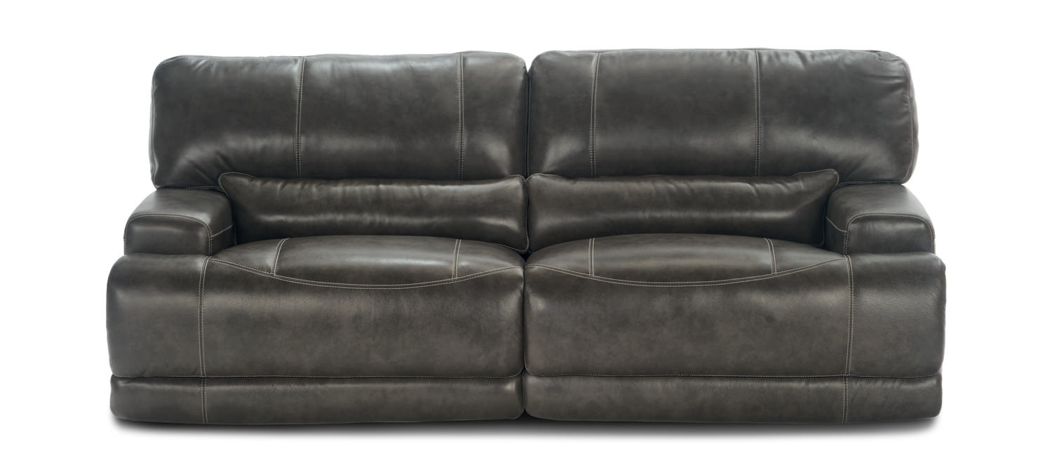 Prix Leather Power Reclining Sofa ...