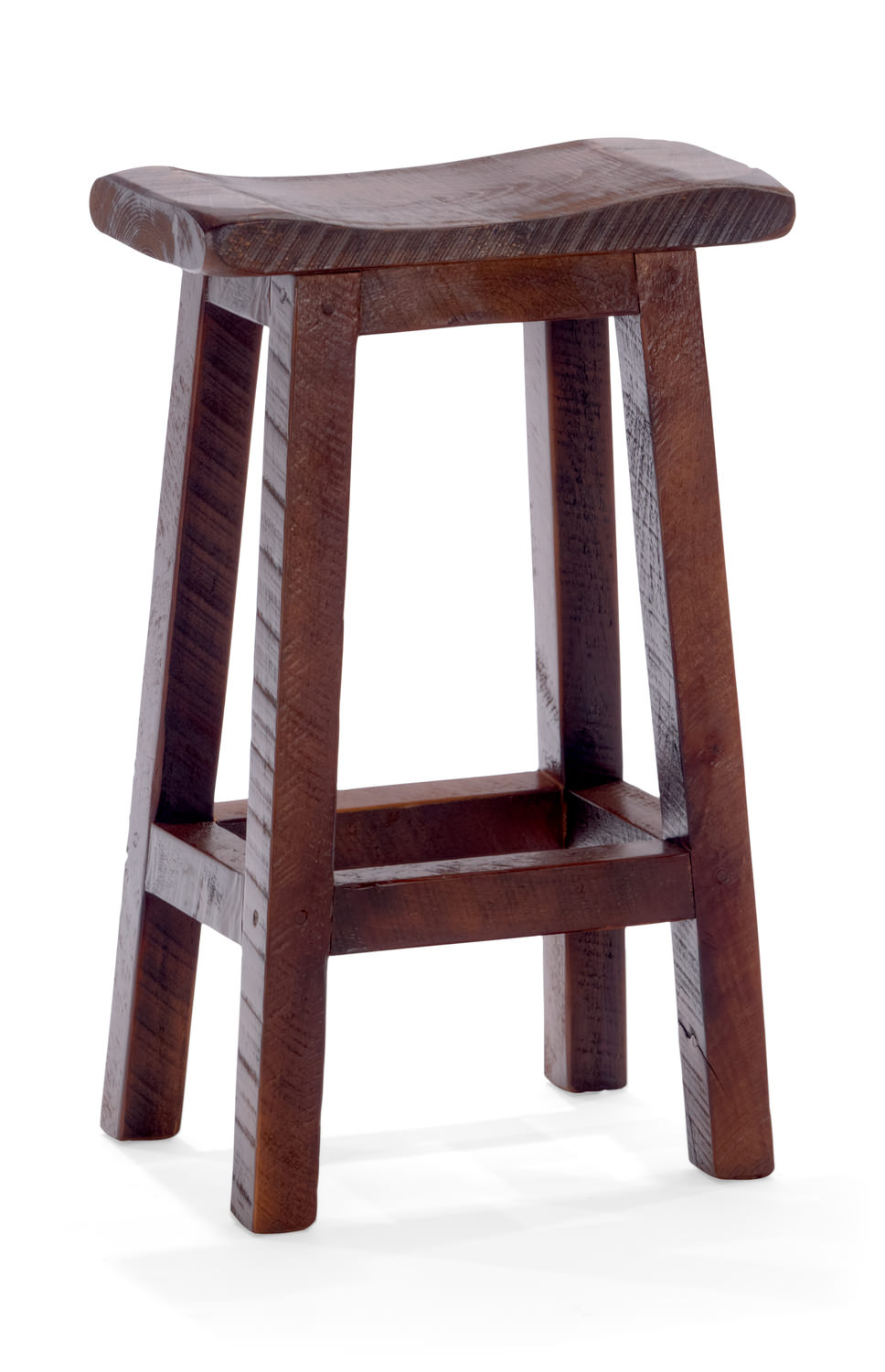 Old Fitz Saddle Seat Stool Hom Furniture