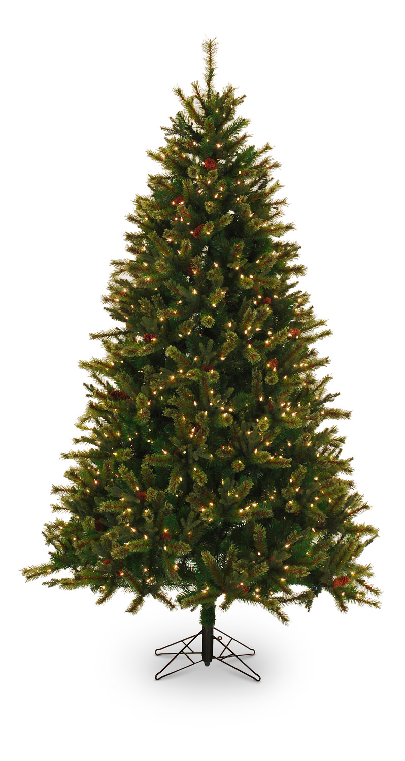 itasca pine 75 pre lit artificial christmas tree with clear lights