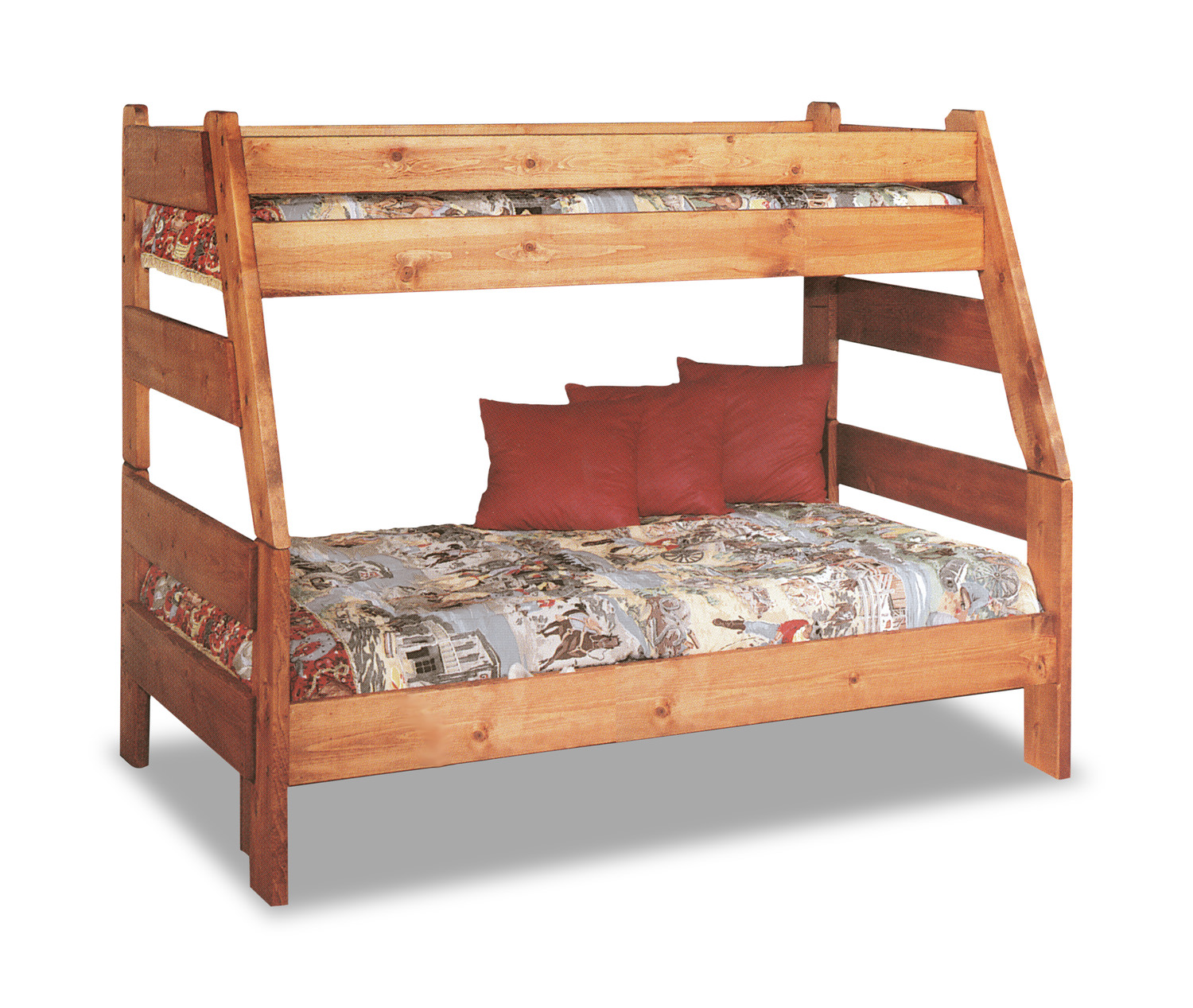 High Sierra Twin Over Full Bunk Bed   Cinnamon finish. High Sierra Twin Over Full Bunk Bed   Cinnamon finish   HOM Furniture