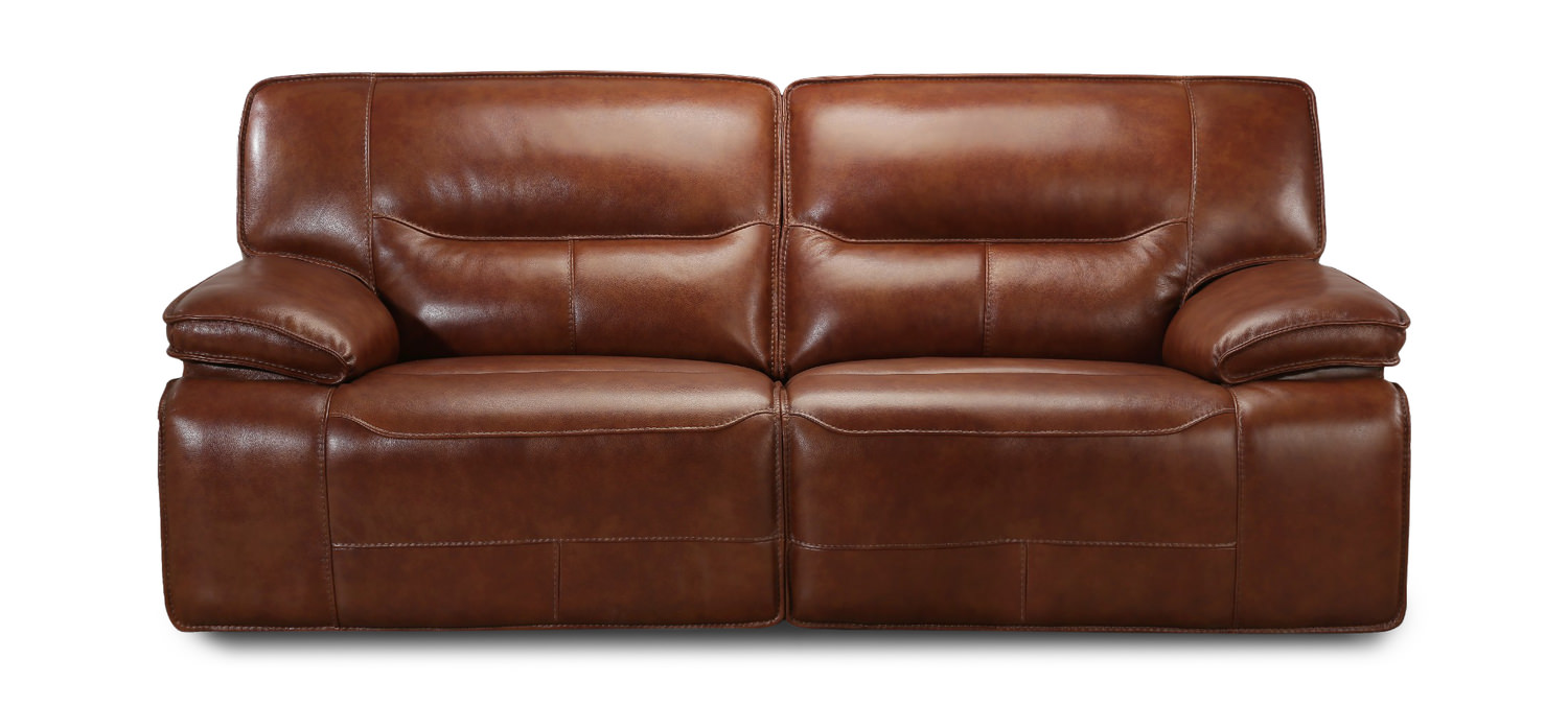 Indy Leather Reclining Sofa